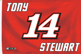 Tony Stewart 3' X 5' Flag Flag