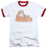 Archie Comics - Distressed Archie Logo Ringer T-Shirt