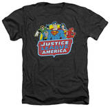 Justice League - 8 Bit League Shirts