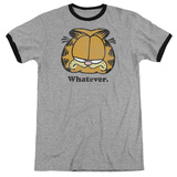 Garfield - Whatever Ringer T-Shirt