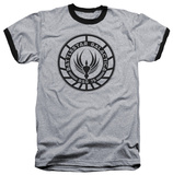 Battlestar Galactica - Galactica Badge Ringer T-Shirt