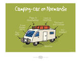 Heula. Camping-car normand Prints by Sylvain Bichicchi