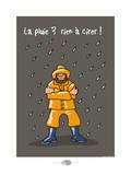 Oc'h oc'h. - La pluie, rien à cirer ! Posters by Sylvain Bichicchi