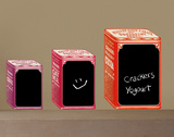 Second Hand Boxes Water Resistant Chalk Board Wall Decal