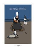 Oc'h oc'h. - Nostalgie bretonne Prints by Sylvain Bichicchi