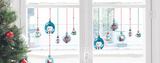 Christmas Snowball Mini Window Stickers Window Decal
