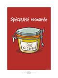 Heula. Froid de canard Print by Sylvain Bichicchi