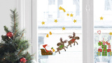 Santa Claus Window Stickers Window Decal