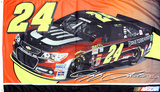 Jeff Gordon Deluxe 3' X 5' Flag Flag