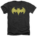 Batman - Batgirl Logo Distressed Shirt