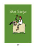 Pays B. - Biker basque Art by Sylvain Bichicchi