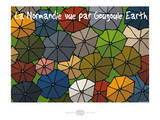 Heula. Normandie par Gougoule Earth Posters by Sylvain Bichicchi