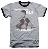Muhammad Ali - Ready To Fight Ringer T-shirts