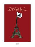 Broutch - Eiffel N.C. Posters by Sylvain Bichicchi