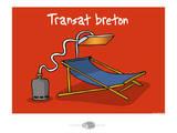 Oc'h oc'h. - Transat breton Print by Sylvain Bichicchi