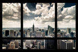 Ventana en Nueva York Lámina