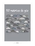 Heula. 50 nuances de gris Posters by Sylvain Bichicchi