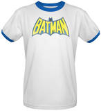 Batman - Classic Batman Logo Ringer T-Shirt