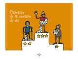 Touchouss - Palmarès de la semaine de ski Posters by Sylvain Bichicchi