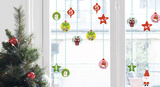 Christmas Balls Window Stickers Window Decal