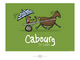 Heula. Cabourg, j'y cours Posters by Sylvain Bichicchi