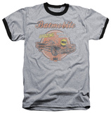 Batman - Amazing Batmobile Ringer Shirts