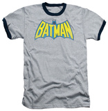 Batman - Classic Batman Logo Ringer T-shirts