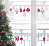 Christmas Ornaments Window Stickers Window Decal
