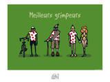 Fondus de montagne - Meilleurs grimpeurs Posters by Sylvain Bichicchi
