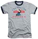 Popeye - I Yam What I Yam Ringer T-shirts