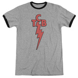 Elvis Presley - TCB Ringer T-shirts