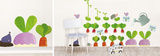 Vegetable Garden Wall Decal
