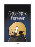 Oc'h oc'h. - Galettes forever Posters por Sylvain Bichicchi