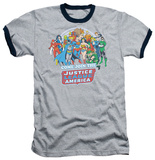 Justice League - Come Join Ringer T-Shirt