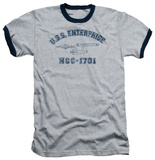 Star Trek - Enterprise Athletic Ringer T-shirts