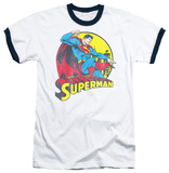 Superman - Big Blue Ringer T-Shirt