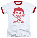 Mad Magazine - What Me Worry Ringer T-Shirt