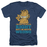 Garfield - Never Wrong Shirts