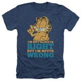 Garfield - Never Wrong Shirt