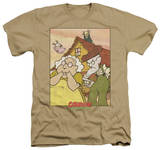 Courage The Cowardly Dog - Gothic Courage Shirts