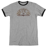 Sun Records - Worn Logo Ringer Shirts