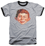 Mad Magazine - Alfred Head Ringer T-Shirt