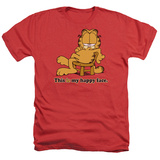 Garfield - Happy Face Shirts