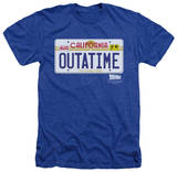 Back To The Future - Outatime Plate T-shirts