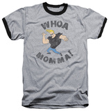 Johnny Bravo - Whoa Momma Ringer Shirts