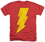 Shazam - Shazam Logo Distressed T-shirts
