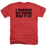 The Voice - Turned My Chair T-shirts