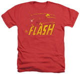 The Flash - Flash Speed Distressed T-shirts