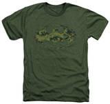 Batman - Marine Camo Shield T-Shirt