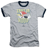 Woody Woodpecker - Knock On Wood Ringer T-Shirt